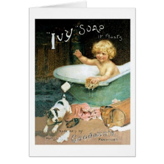 Ivy Soap Card