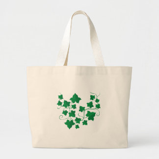 Ivy Vines Large Tote Bag