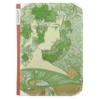 Ivy Vintage Mucha Art Case For Kindle