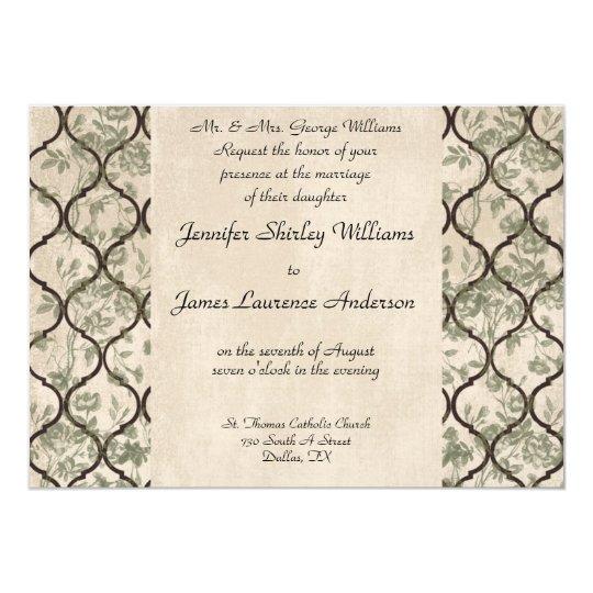 Ivy Wedding Invitation