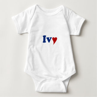 Ivy with Heart T Shirt