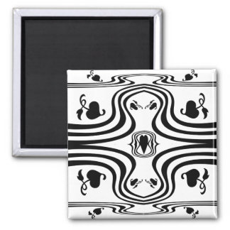 Ivy Woman 2 Inch Square Magnet