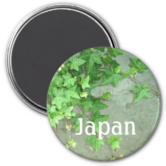 ivy (You can customize) 3 Inch Round Magnet