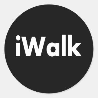 iWALK Classic Round Sticker