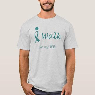 iWalk for Ovarian Cancer Awareness T-Shirt