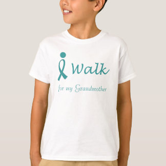 iWalk for Ovarian Cancer Awareness T-Shirt
