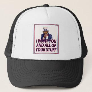 IWantYouStuff18x21sttoo2bright Trucker Hat