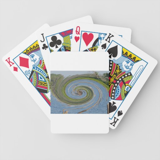 IWater,Stumps And Trees Bicycle Poker Cards
