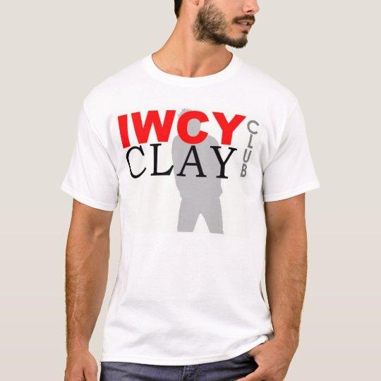 IWCY CLAY CLUB_Large Logo_NO MEMBER T-Shirt