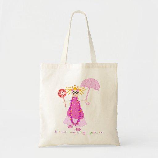 IWD no es el ser fácil princesa Bag Bolsa De Mano