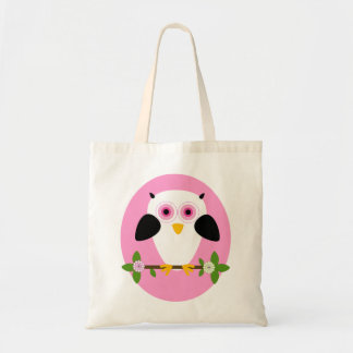 IWD Owl On a String Pink Bag
