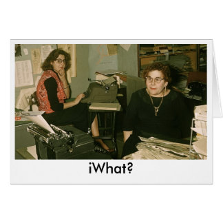 iWhat? Card
