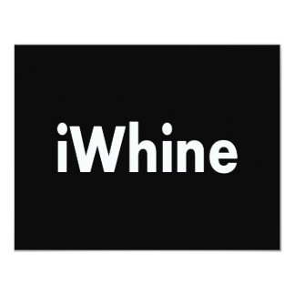 iWhine Card