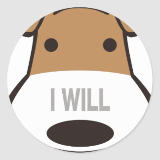 iwill-goods classic round sticker