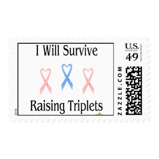 IWillSurviveRaisingTripletsGirlBoyGirl2 Stamp