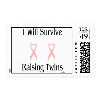 IWillSurviveRaisingTwinsGirlGirl2 Stamps