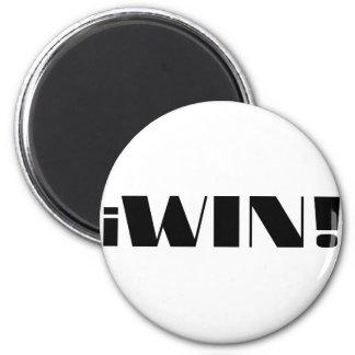 iWin! 2 Inch Round Magnet