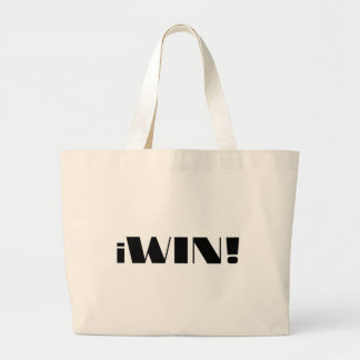 iWin! Large Tote Bag