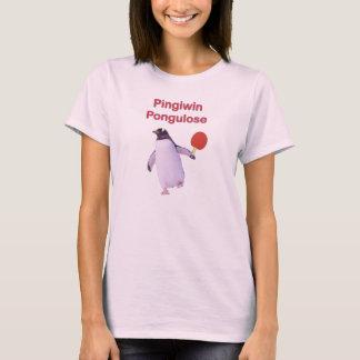 iWin uLose Penguin Ping Pong T-Shirt