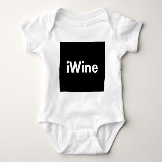 iWine Baby Bodysuit
