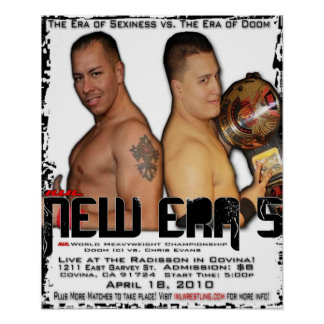 IWL New Era 5 Flyer Poster! Poster