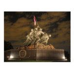 Iwo Jima at Night Postcard