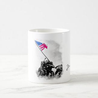 IWO JIMA COFFEE MUG