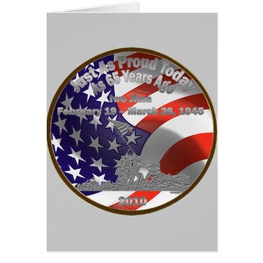 Iwo Jima Commemorative Coin Card