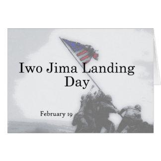 Iwo Jima Landing Day February 19 Card