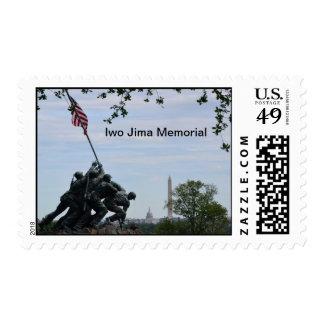Iwo Jima Marines Memorial Postage Stamp