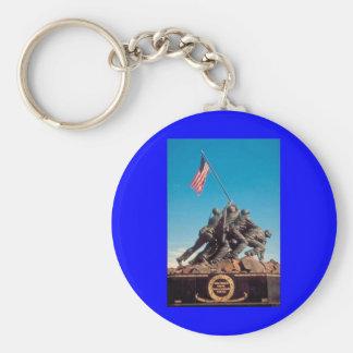 iwo-jima-memorial-1 basic round button keychain