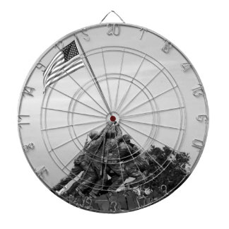 Iwo Jima Memorial Dart Board