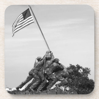 Iwo Jima Memorial Drink Coaster