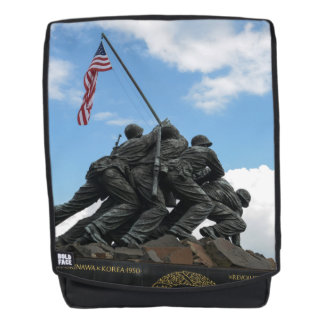 Iwo Jima Memorial in Washington DC Backpack