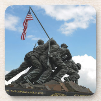 Iwo Jima Memorial in Washington DC Drink Coaster