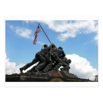 Iwo Jima Memorial in Washington DC Postcard