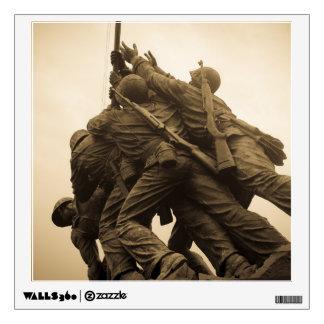 Iwo Jima Memorial in Washington DC Wall Decal