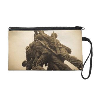 Iwo Jima Memorial in Washington DC Wristlet