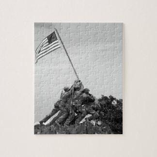 Iwo Jima Memorial Jigsaw Puzzles