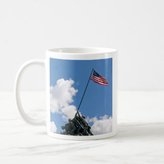 Iwo Jima Memorial Monument Coffee Mug