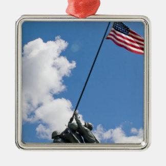 Iwo Jima Memorial Monument Christmas Tree Ornament