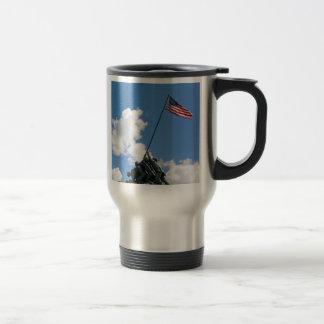 Iwo Jima Memorial Monument Travel Mug