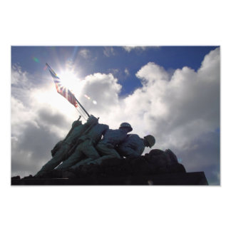 Iwo Jima Memorial Photo Print