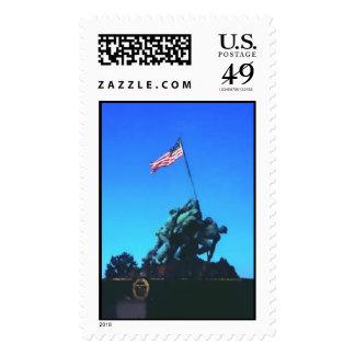 Iwo Jima Memorial Postage Stamp