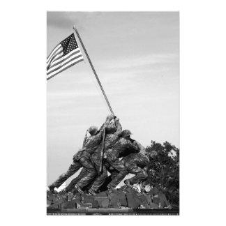 Iwo Jima Memorial Stationery