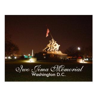 Iwo Jima Memorial, Washington D.C. Postcard