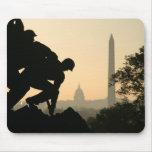 Iwo Jima Morning Mousepad