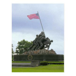 Iwo Jima Statue Postcard
