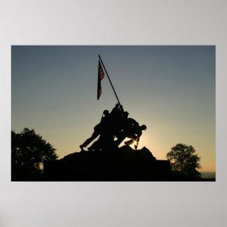 Iwo Jima Sunrise Poster