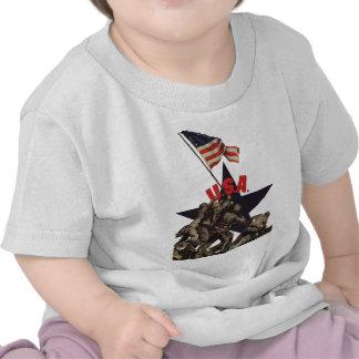 Iwo Jima USA World War 2 Tee Shirt